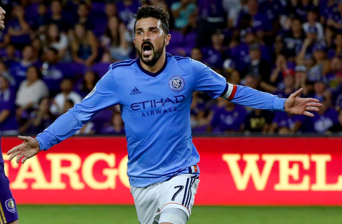 David Villa has had some beautiful goals for NYCFC
