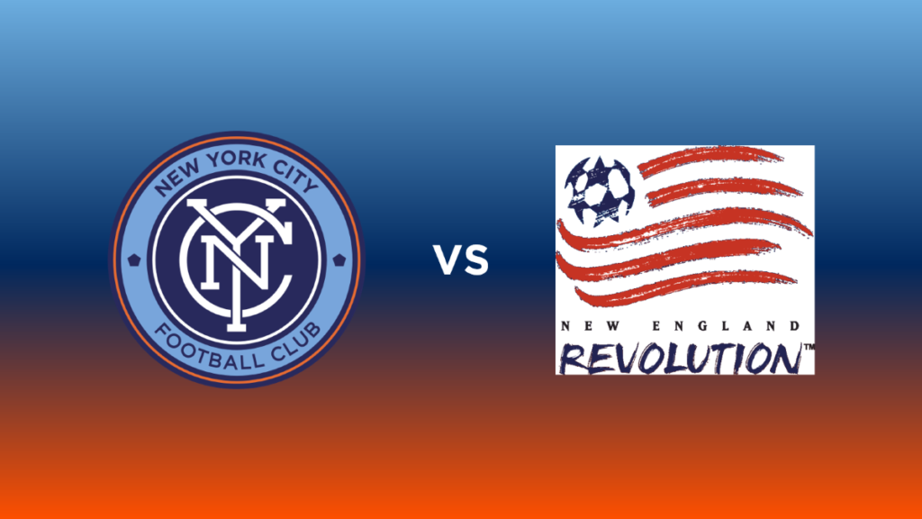 NYCFC vs Revolution