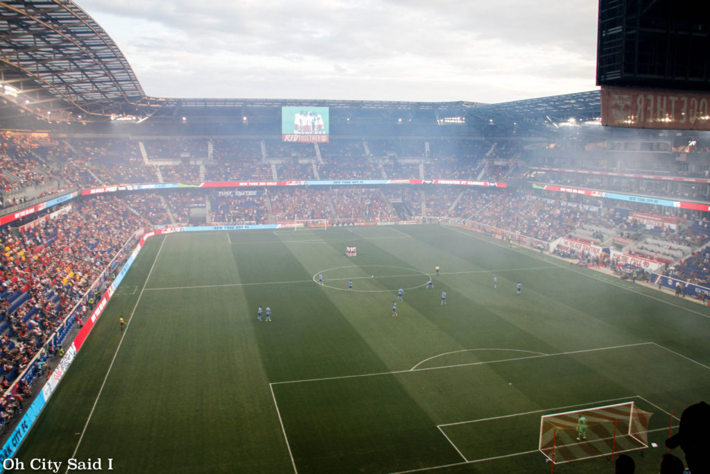 NYCFC vs New York Red Bulls