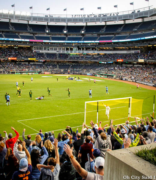 NYCFC To Host Playoff Match At Yankee Stadium