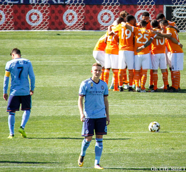 NYCFC tie against Houston Dynamo in Conneticut
