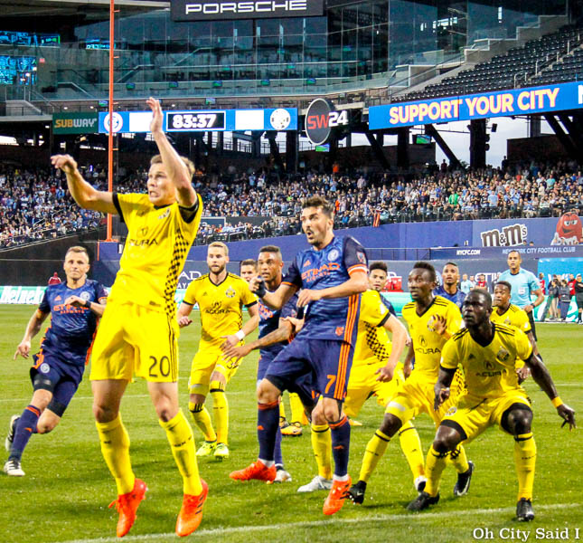 Draws Won't Do: City Opens Playoffs in Columbus