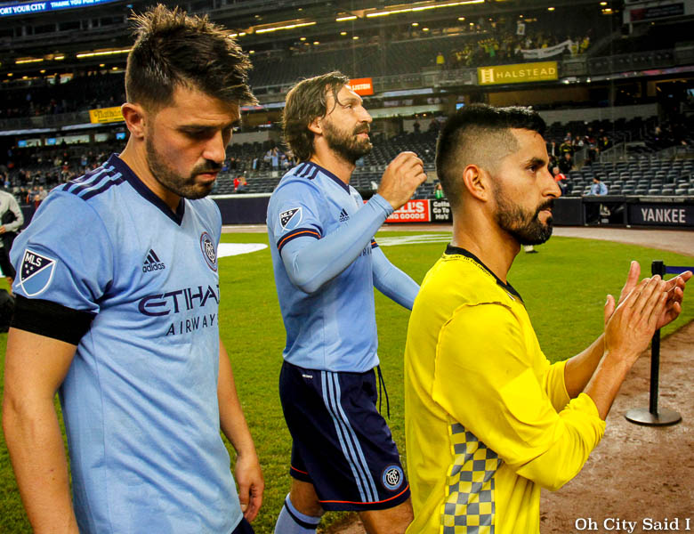 NYCFC's First Historic Playoff Win Brings Consecutive Playoff Departure