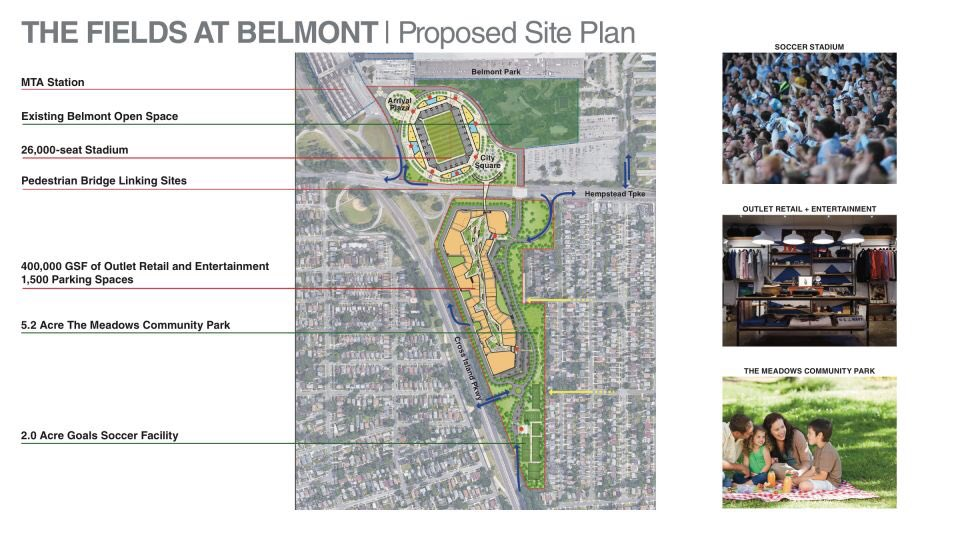 NYCFC Lose Out On Belmont Stadium Bid
