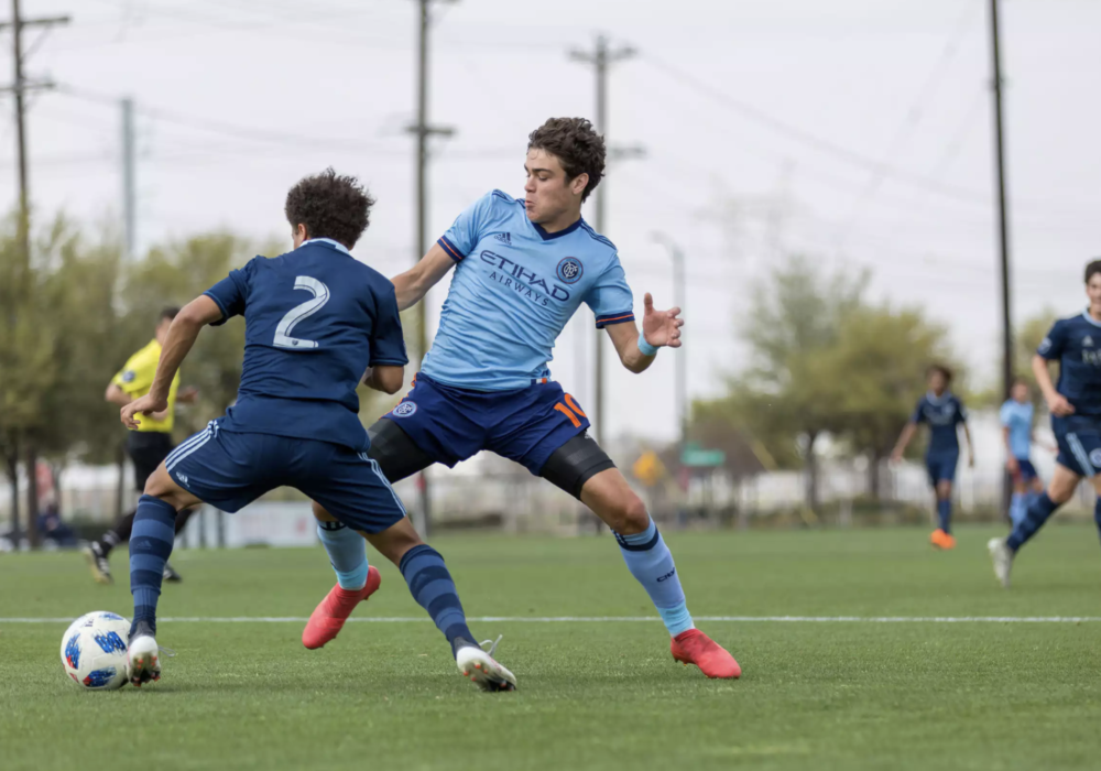 Giovanni Reyna shines in the Generation Adidas Cup. (Image by NYCFC)