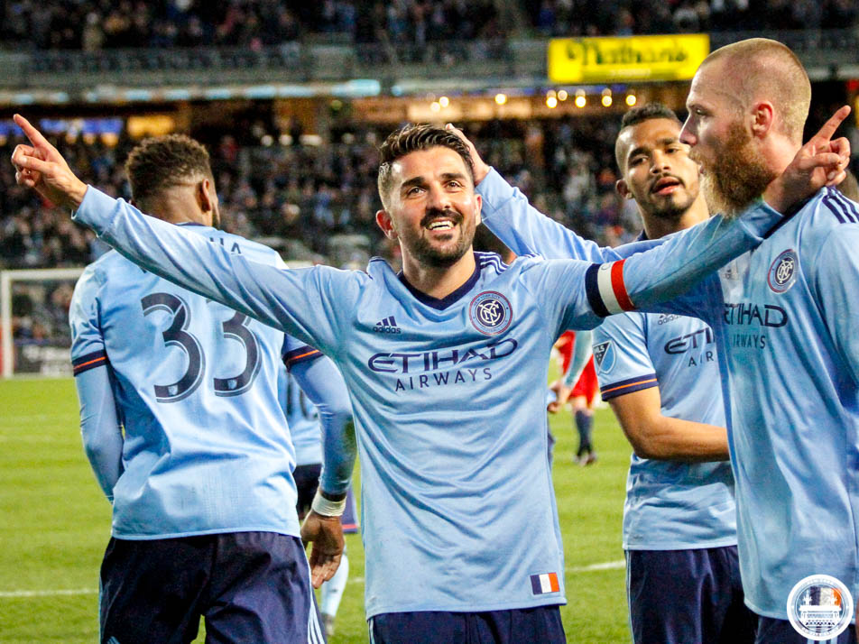 MLS capsules: David Villa scores twice as NYCFC remains hot