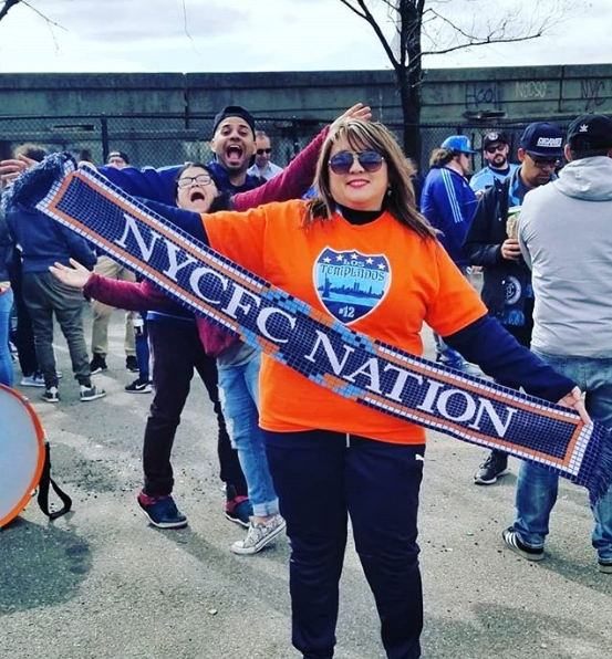Los Templados Showing NYCFC Nation Support!
