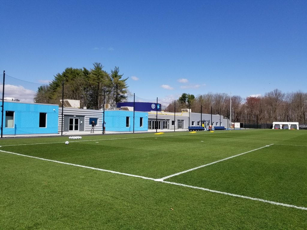 Orangeburg, New York. New York City FC training facility. Photo taken by Jon Levin