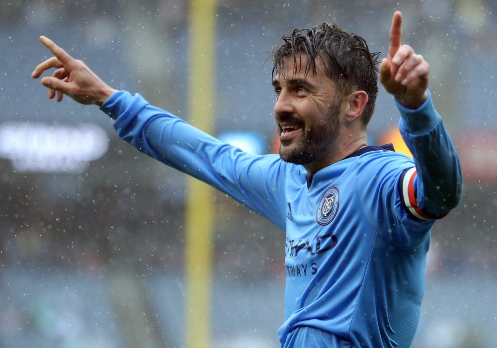 David Villa Day, oh how Nice it is