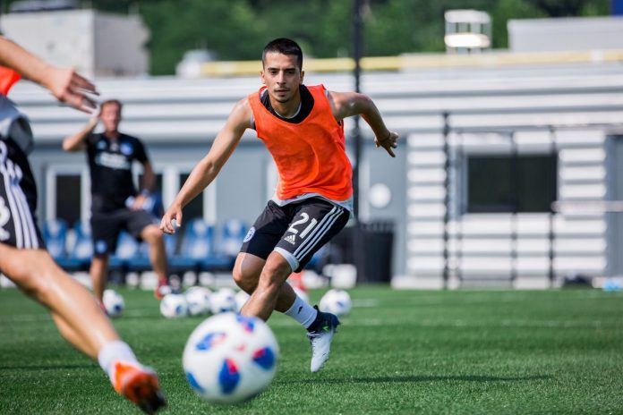 Queens local, Danny Bedoya signs with New York City FC. Photo Credit: NYCFC