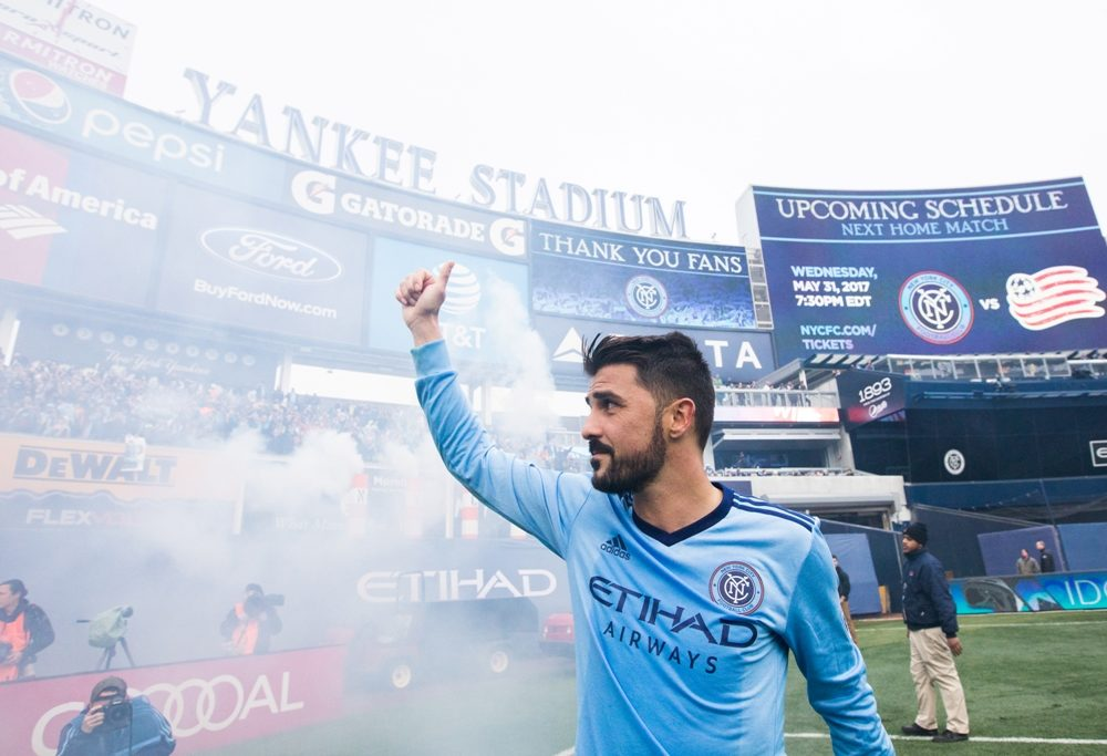 David Villa Says Goodbye to NYCFC